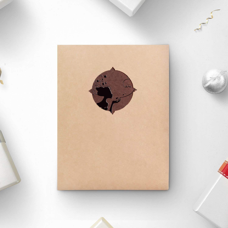 Scrapbook de Cuero Vintage /Álbum de Recortes Aniversario Valentines Cumplea/ños Regalo originales para Mujer Mam/á Ni/ña AIOR /Álbum de Fotos Para Pegar Album Scrapbooking DIY Libros de Firmas para Boda
