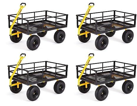 Amazon.com: Carros de gorila gor1400-com Heavy-duty utilidad ...