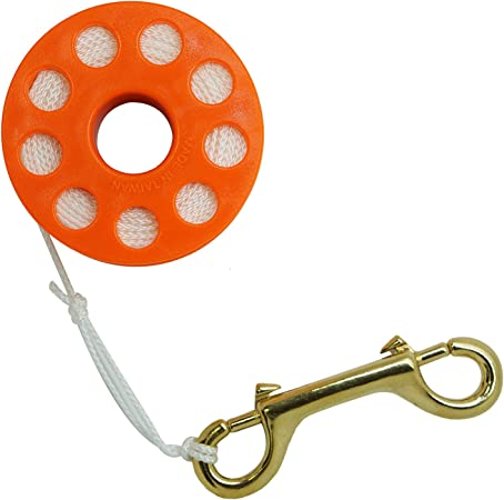 Innovative Scuba Concepts Finger Spool BK 150 YL LINE