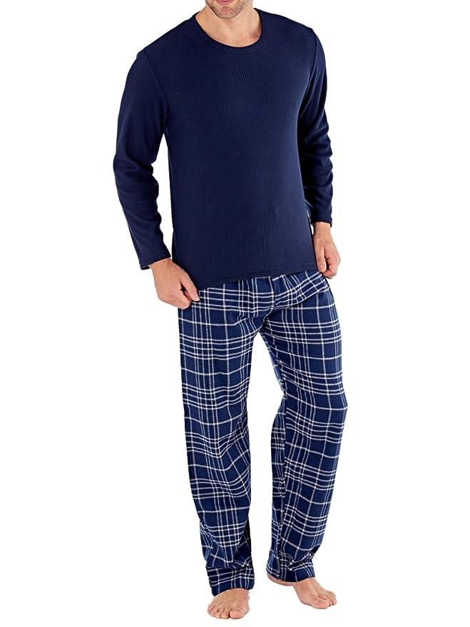 Harvey James - Sets de pijama Hombre - Azul - XL: Amazon.es: Ropa y accesorios
