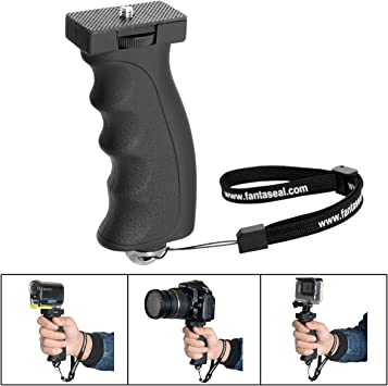 Pro Video Stabilizing Handle Grip for Fujifilm DS-260HD Vertical Shoe Mount Stabilizer Handle