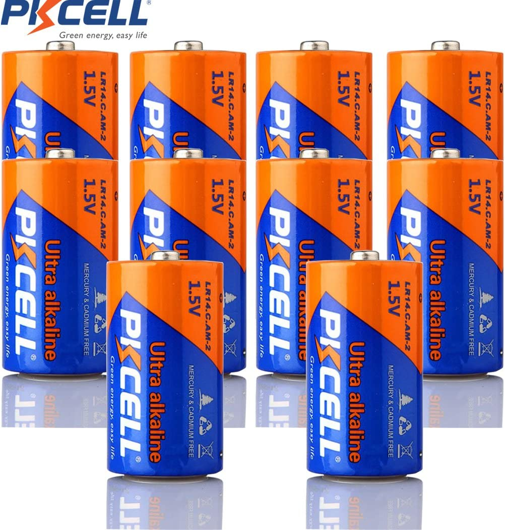 Amazon Com Lr14 1 5v C Size Am 2 Mn1400 E93 Alkaline Battery