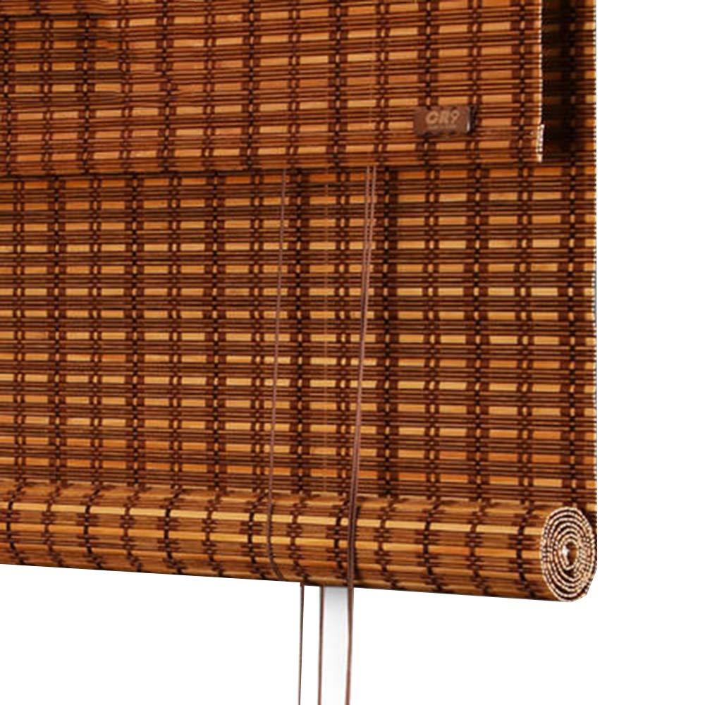 竹スクリーン すだれ ウッドブラインド カーテン 断つ デコレーション お茶屋 家庭 4つのスタイル カスタマイズ可能なサイズ,B,W120*H180CM   B07SHRY4RP