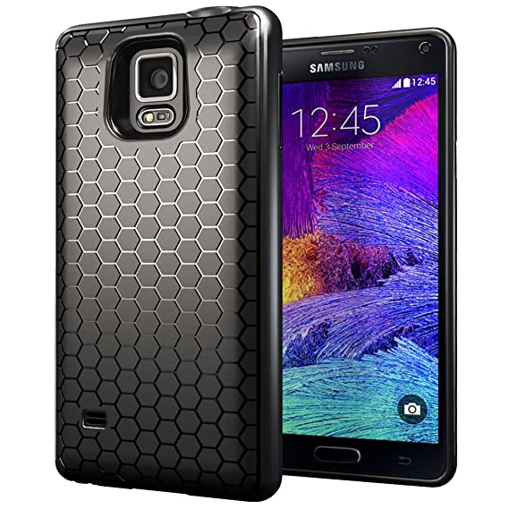separation shoes 3bd2a 833ba Samsung Galaxy Note 4 Extended Battery Case. Hyperion Samsung Galaxy Note 4  Extended Battery Honeycomb TPU Case/Cover (CASE ONLY. Does not Include ...