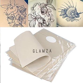 Piel falsa para práctica de tatuaje de Glamza, color blanco, 20 cm ...