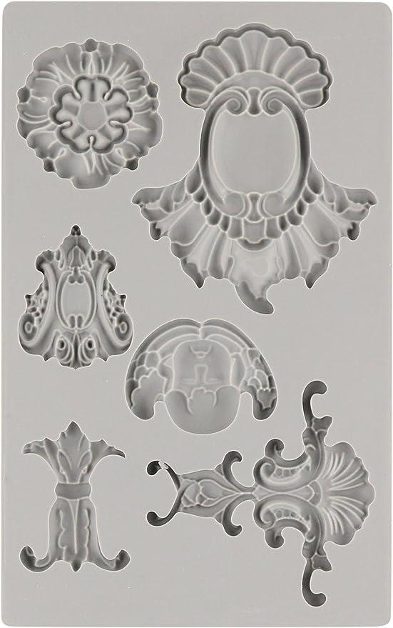 Prima Marketing Iron Orchid Designs Vintage Art Decor Mould-Medallions