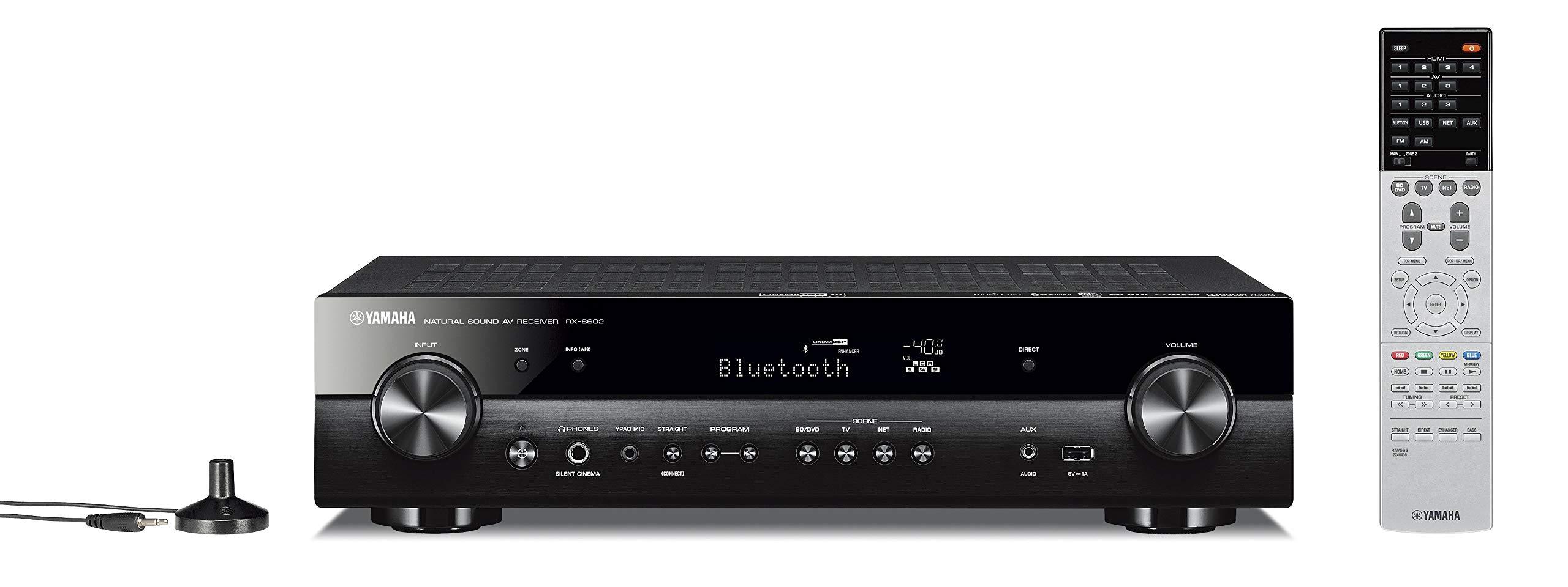 Yamaha RX-S602 Slim Audio & Video Component Receiver Slimline by Yamaha Audio (Image #5)