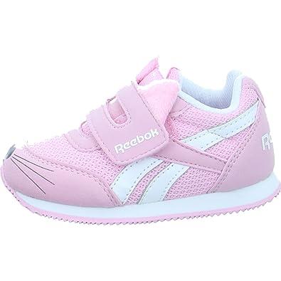Reebok Royal Cljog 2 KC, Zapatillas de Estar por casa Bebé Unisex, Blanco (Kitten-White/Luster Pink 000), 21 EU: Amazon.es: Zapatos y complementos