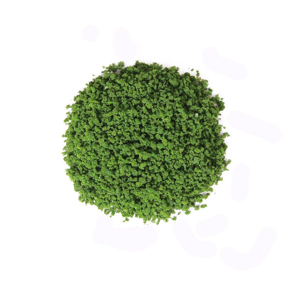 1 Pack of Trees Leaves Foliage for DIY Model Building Landscape---Green Générique