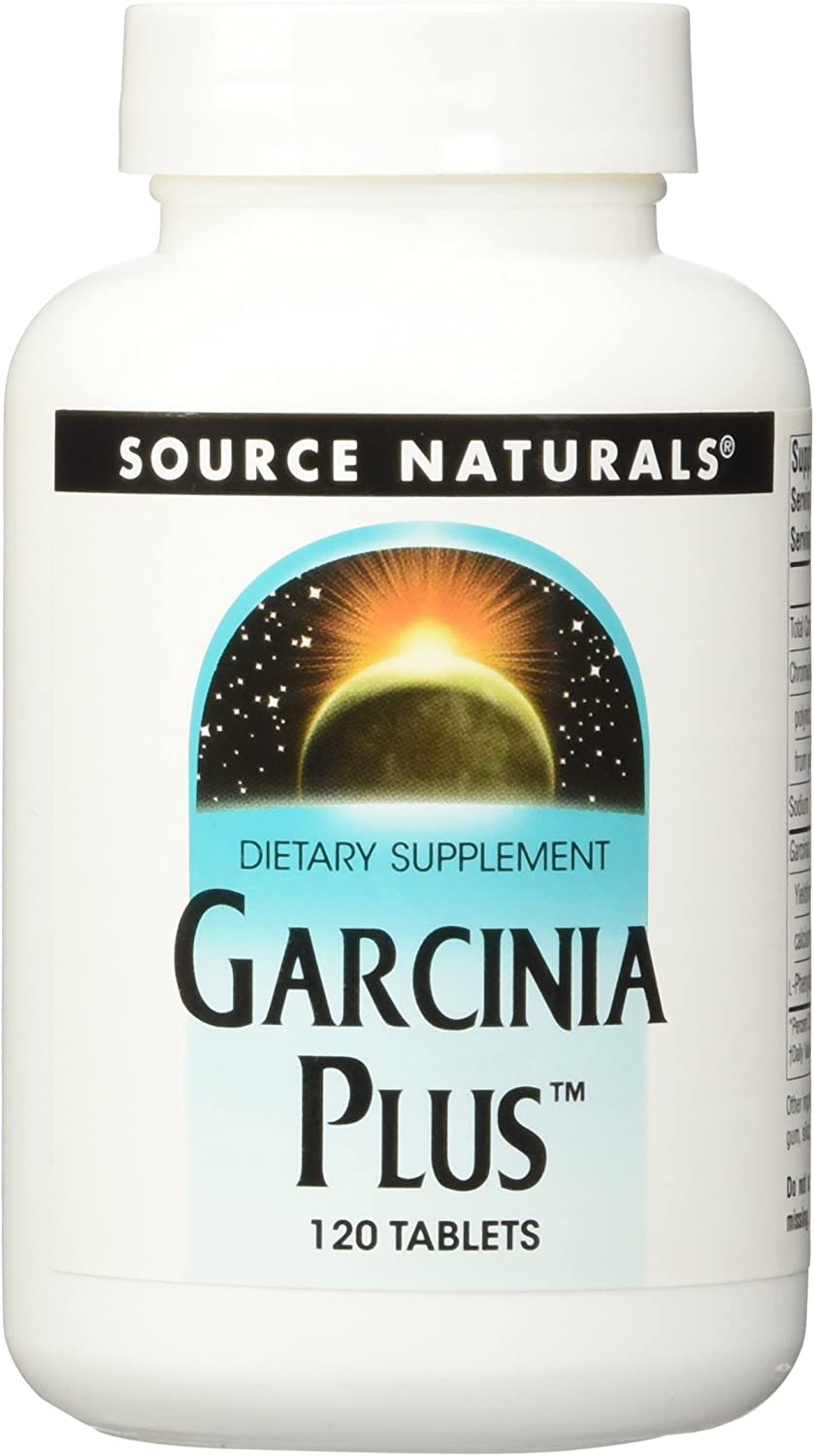 Source Naturals Garcinia Plus - Supports Weight Loss and Appetite Suppression - 120 Tablets