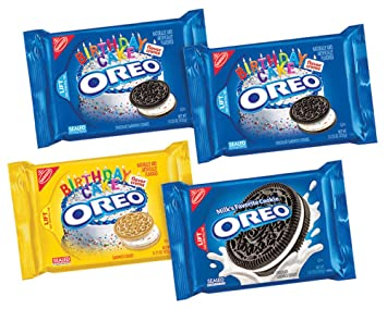 Amazoncom Oreo Sandwich Cookie Birthday Party Pack with Classic