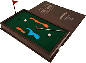 Barwench Games' Executive Mini Desktop Golf Game, Pocket Golf Game