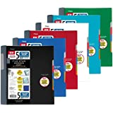 Five Star Advance Spiral Notebook-Standard Size, 5 Subject, College Ruled, 8.5 x 11 Inch Sheet Size, Assorted (73144)