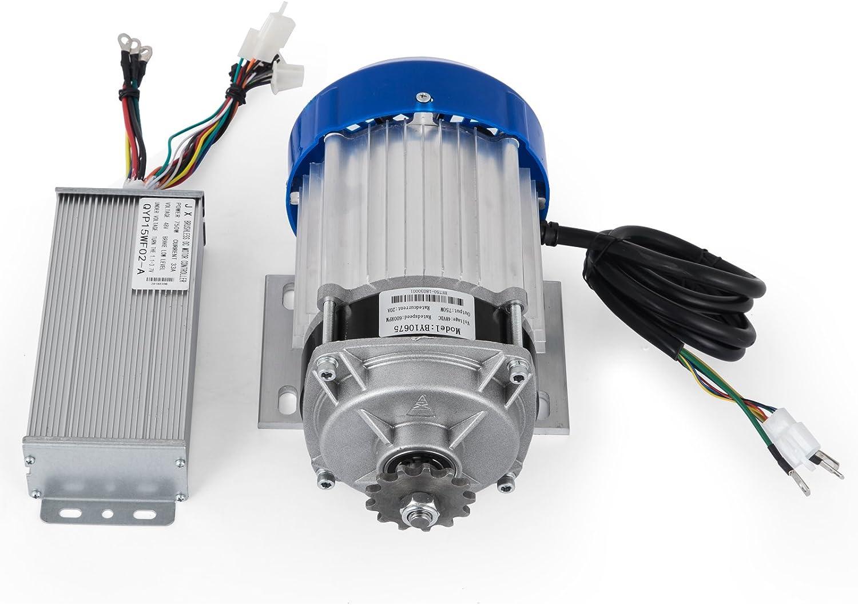 48V DC Motor Brushless Electric Motor 1500W BLDC E-Bike Permanent sprocket