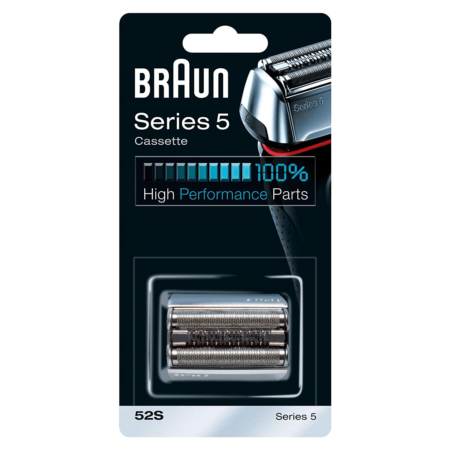 Braun Kombipack 52S Replacement Shear and Blade Blade in Silver For Series 5