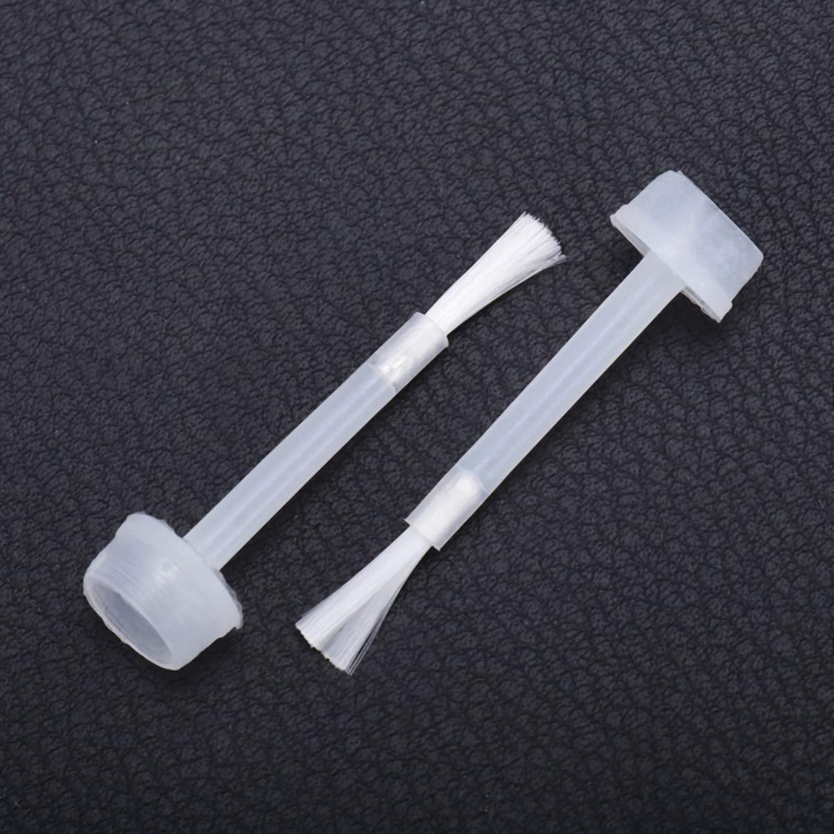 Nail Polish Brush, Nail Dipping Powder Liquid Brushes Set for Water-based Nail Polish 100pcs