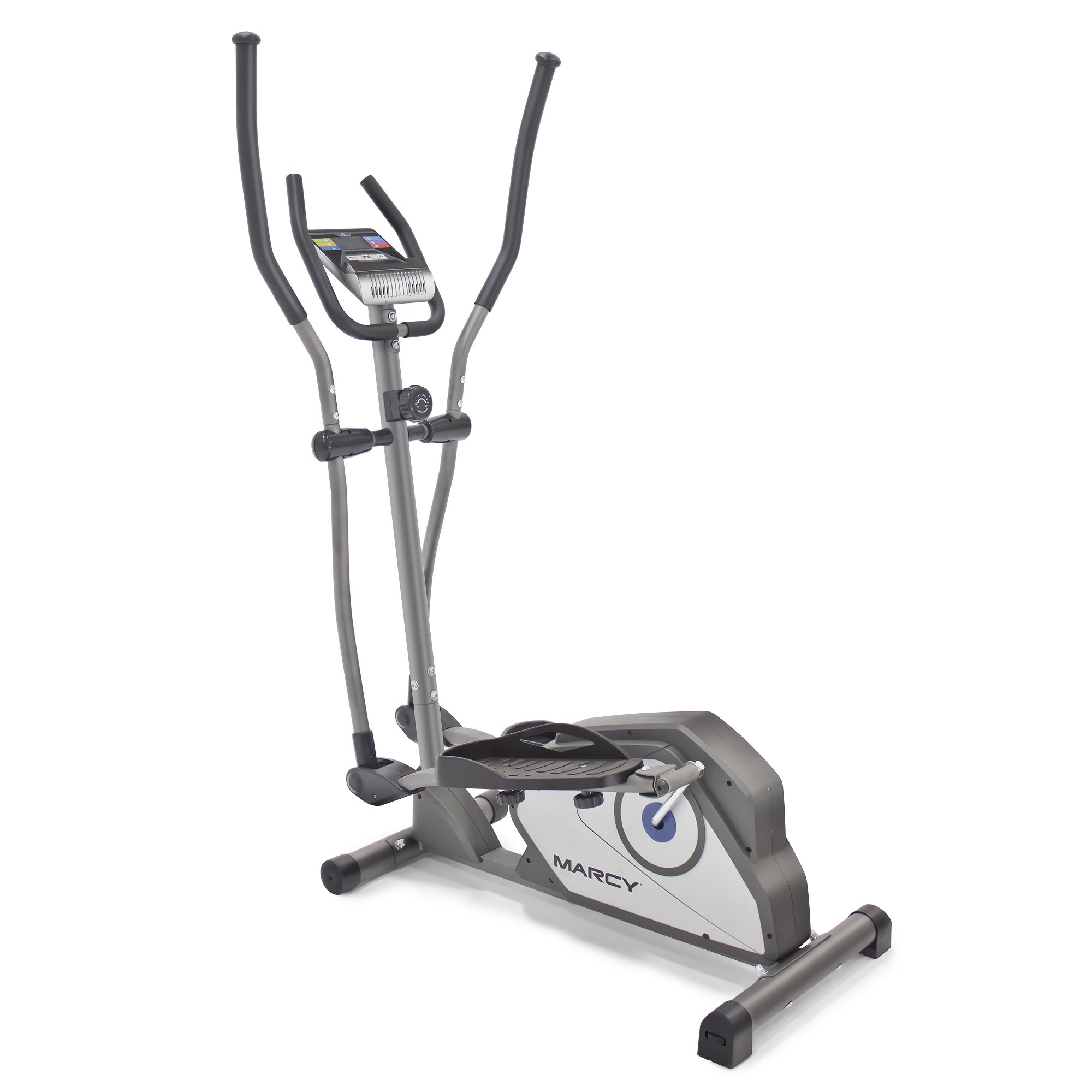 Marcy Magnetic Elliptical Trainer Cardio Workout Machine with Transport Wheels NS-40501E by Marcy