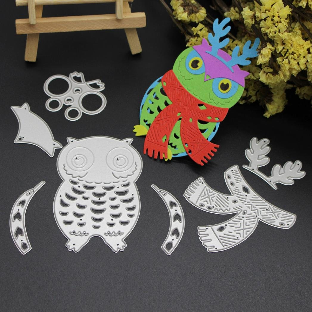 Amazon.com: Molyveva Scrapbooking Embossing DIY Crafts Merry Christmas Cute Metal Cutting Dies Stencils