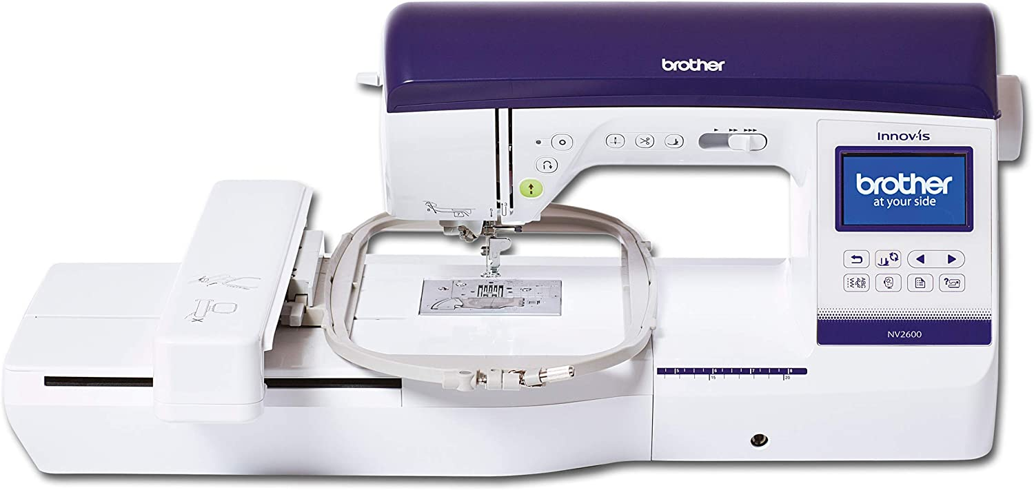 Brother Innovis 2600 Máquina de Coser Y Bordar, Blanco, L: Amazon ...