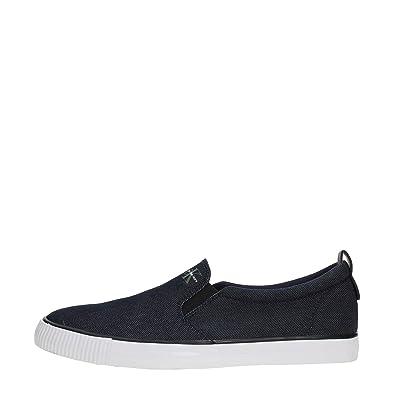 Calvin Klein Jeans 2922 Andis Nylon s0540 Indigo - Chaussures Nylon Bleu - Bleu, 39 EU