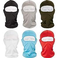 Syhood 6 Piezas Pasamontañas Máscara Facial Completa Protección