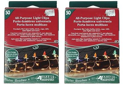 Adams USA Light Clips for Outdoor String Lights, Strip Lights, Christmas  Lights, and - Amazon.com : Adams USA Light Clips For Outdoor String Lights, Strip