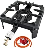 NJ GB-29 Cast Iron Gas Boiling Ring Large Stove Burner LPG Cooker Restaurant Catering 8 kW