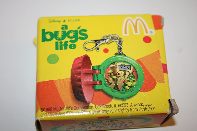 Pixar A Bug/'s Life 1996 McDONALDS CLIP-TOCK Set 3