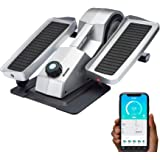 Cubii Pro Seated Under Desk Elliptical Machine for Home Workout, Pedal Bike Cycle Motion, Bluetooth sync Fitbit & Apple…