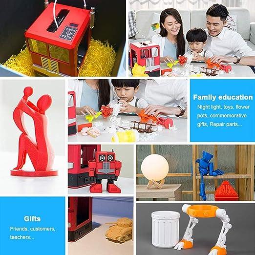 TT GO Impresora portátil 3D para niños Mejorada, nivelación ...