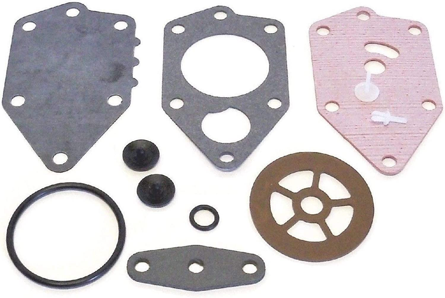 emp Made in USA Johnson Evinrude 9.9 15 20 25 28 30 40 45 50 88 100 125 hp 1990 & up Non VRO Fuel Pump Kit Replaces 438616 433519 18-7800 Read Product Description for Exact Applications