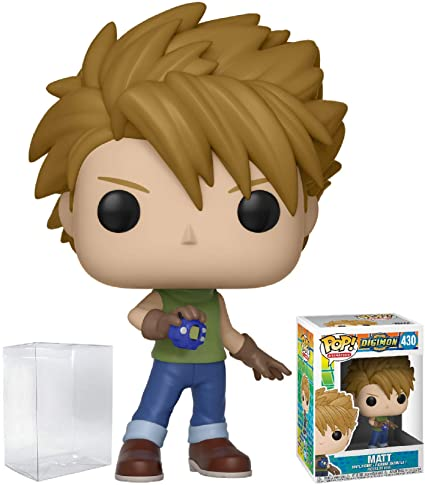 53fe431f963 Image Unavailable. Image not available for. Color  Funko Pop! Animation   Digimon - Matt Ishida Vinyl Figure ...