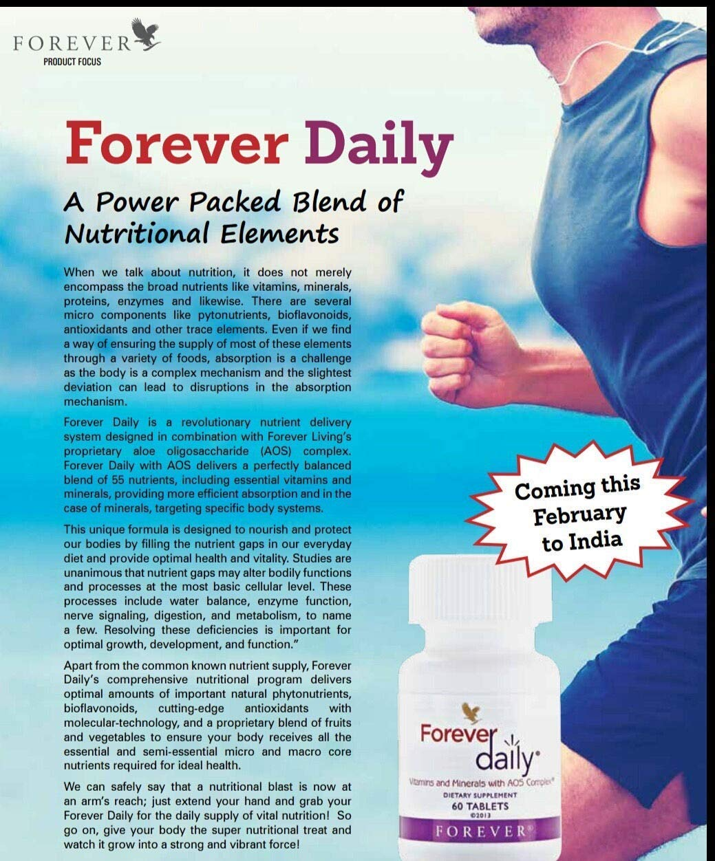 Amazon.com: Forever Living Daily Multi-Vitamin (60 Tablets): Health & Personal Care