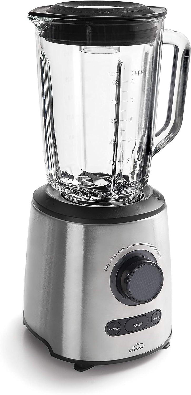 Lacor 69581 69581-Batidora eléctrica INOX 1000 W, Libre de BPA, 1 ...