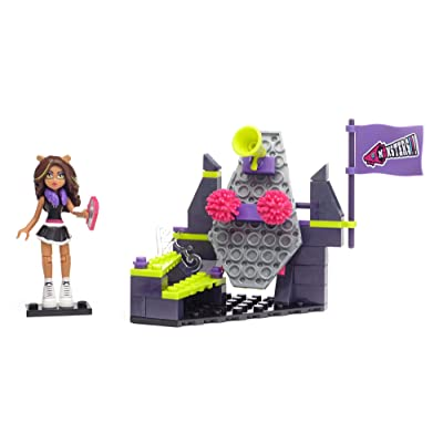 Mega Construx Monster High Clawdeen Wolf Fear Squad Building Kit: Toys & Games