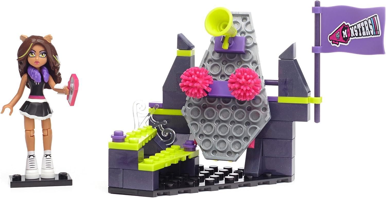 Mega Construx Monster High Clawdeen Wolf Fear Squad Building Kit