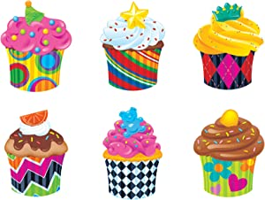 Trend Enterprises Classic Accents Cupcake Variety Pack (TEPT10979)