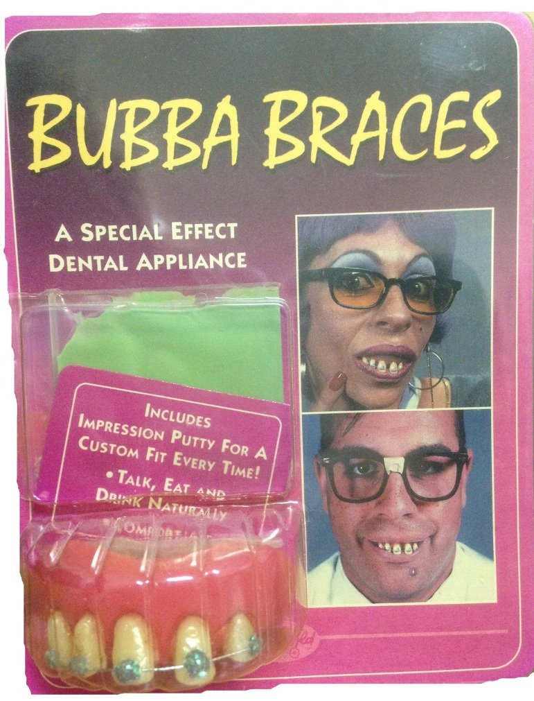 Bubba Braces Dental Dentures