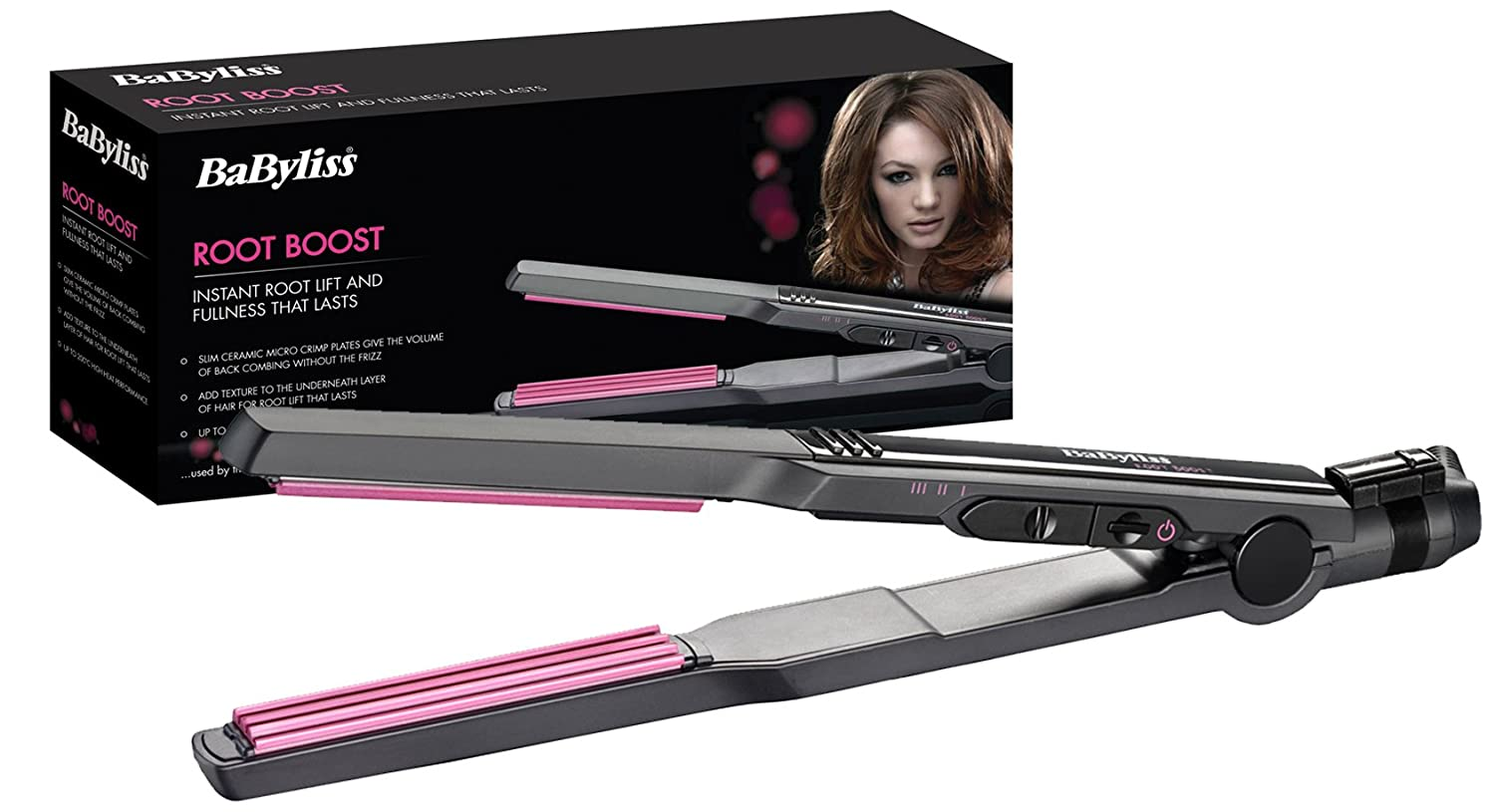 BaByliss 2123U Root Boost Micro Crimper The Conair Group Ltd style volume hair