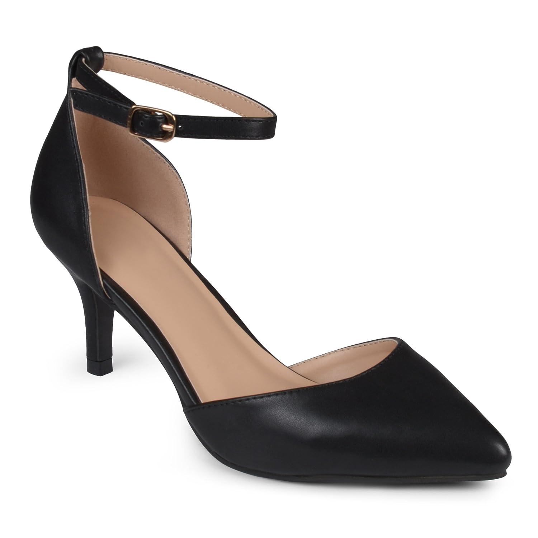 c82a5a2cec8 Journee Collection Women's Matte Ankle Strap Pumps