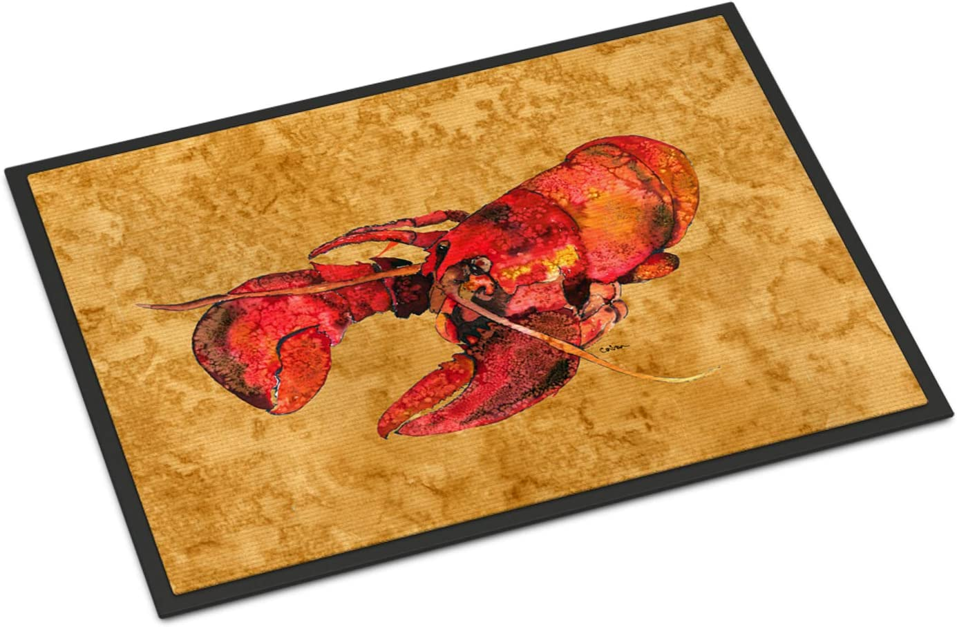 Caroline s Treasures 8715MAT Lobster Indoor or Outdoor Mat 18×27 Doormat, 18H X 27W, Multicolor