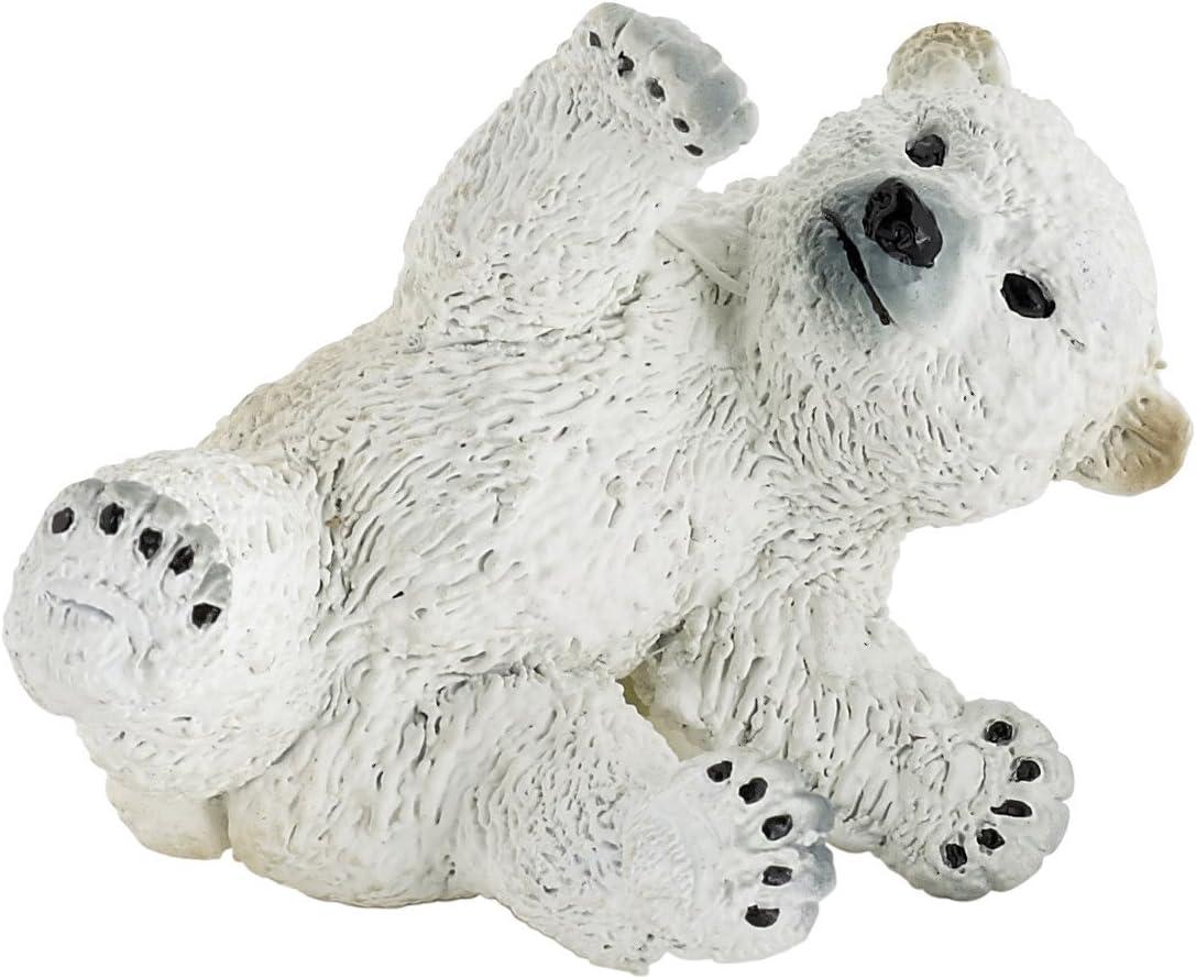 Polar Bear Cub jouant 5 cm Animaux Sauvages Papo 50143