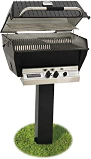 product image for Broilmaster P3-XFN Premium Natural Gas Grill On Black In-Ground Post