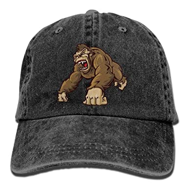 Jocper Gorila Divertido Hombre Moda papá Sombreros algodón Denim ...