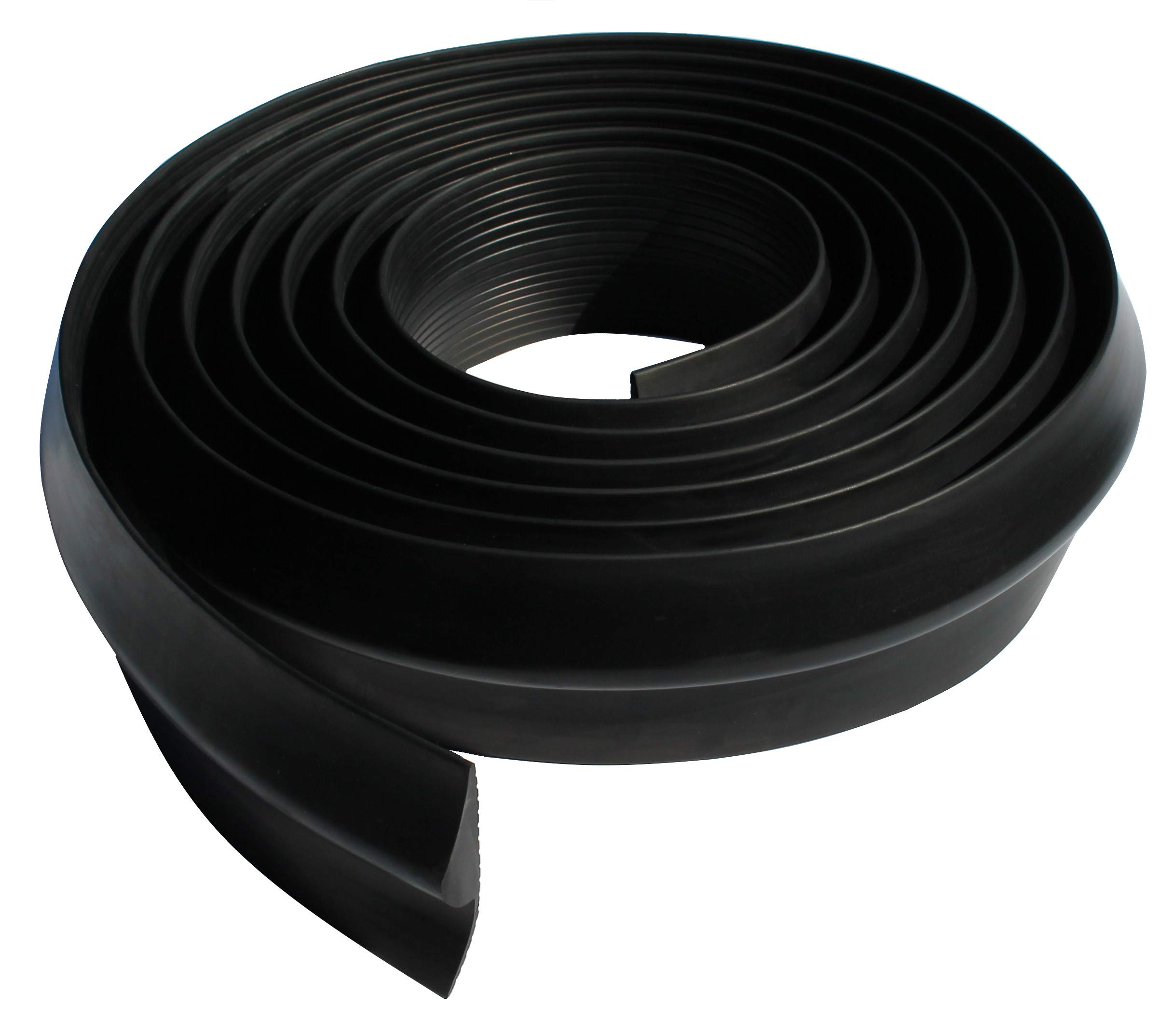 Vat Industries - Universal Weather Stripping Seal for Garage Door Threshold - 11/16 Inch Thick 20 Feet Length by Vat Industries