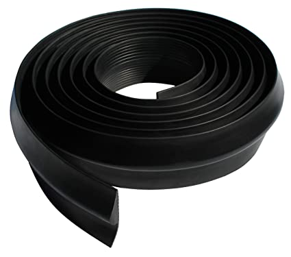 Vat Industries Universal Weather Stripping Seal For Garage Door Threshold 11 16 Inch Thick 20 Feet Length