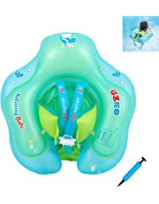 Flotador para Bebé con Asiento yanillo de Seguridad,Recién nacido Natación Flotador Anillo de Natación