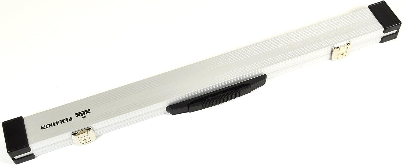 Peradon – Calidad duro funda de aluminio para 2 pc billar ...