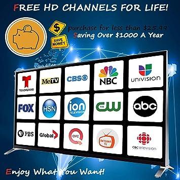 HDTV Antenna,Amplified HD Digital TV Antenna 80 Miles Range,Support 4K  1080P, All Older TV's for Indoor Amplified Digital TV Antennas with Switch