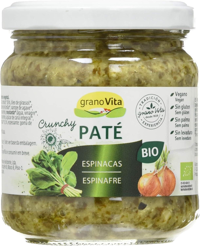 GRANOVITA Pate Crunchy de Espinacas Bio 175 g: Amazon.es ...